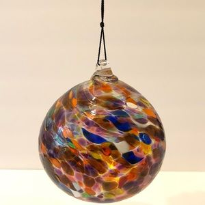 Other - Large hand blown glass rainbow hanging sphere